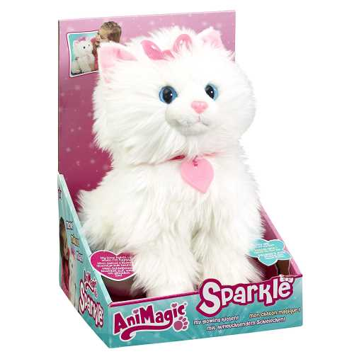 gatito sparkle interactivo animagic