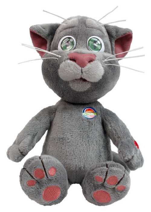 gato interactivo peluche talking tom