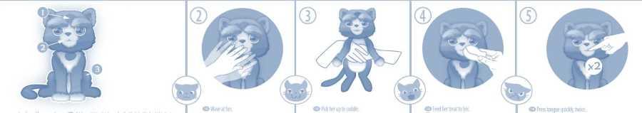 instrucciones gatita bootsie interactiva